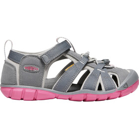 Keen Seacamp II CNX Sandals Barn steel grey/rapture rose